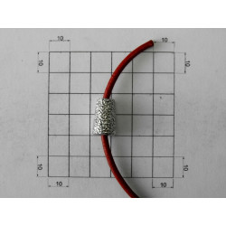 TOP KNOT FOR CORD ZAMAK